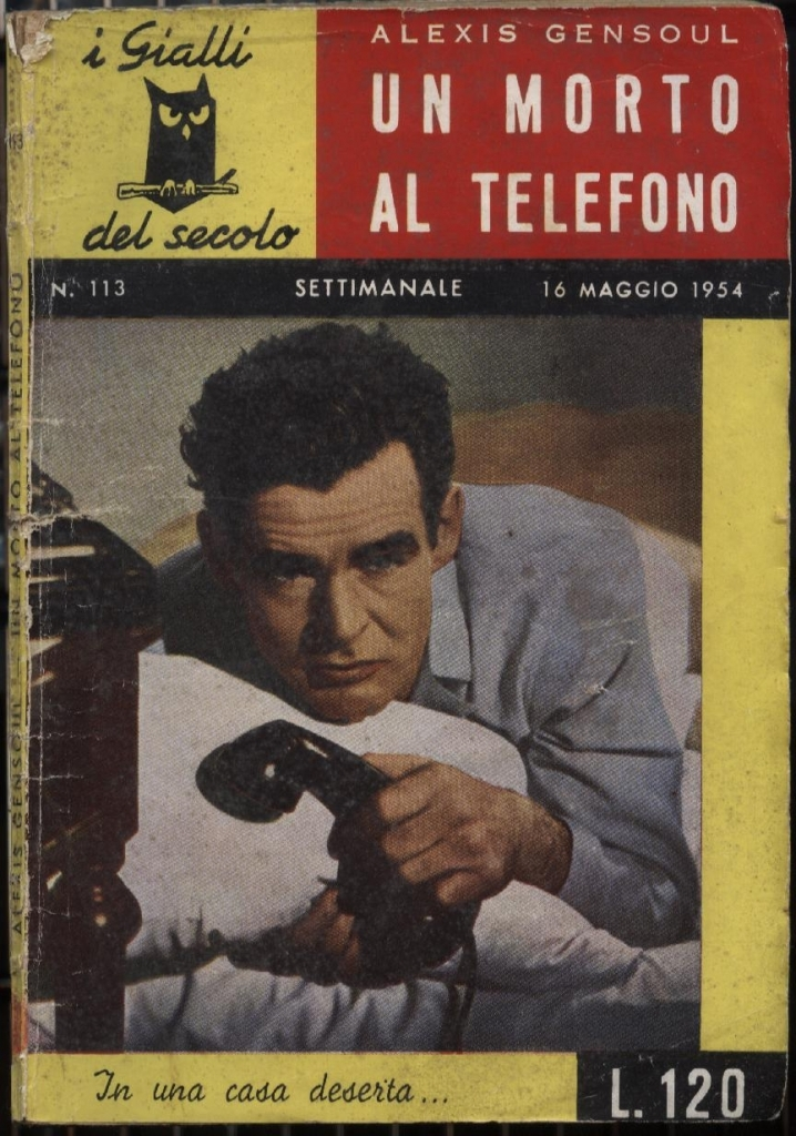 Translations Into Italian: Alexis Gensoul : Gribouille Est Mort (1945)