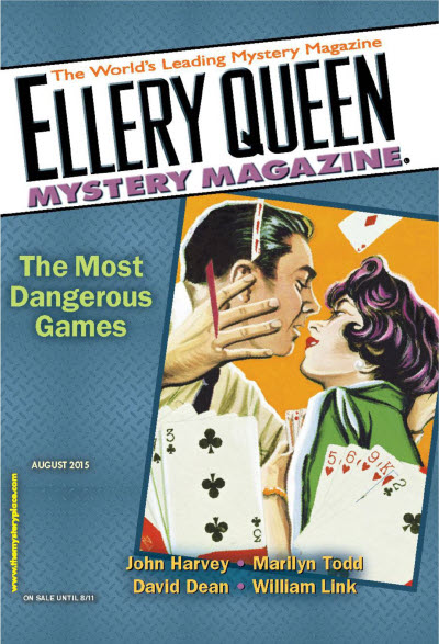 Shimada Soji : The Executive Who Lost His Mind (Hakky�-suru Jūyaku) - Ellery Queen's Mystery Magazine, Agosto 2015